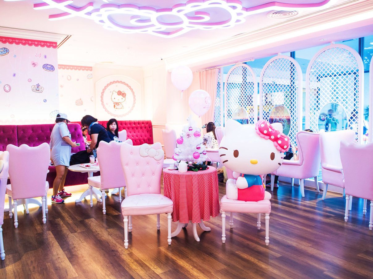 Hello Kitty Cafe 1