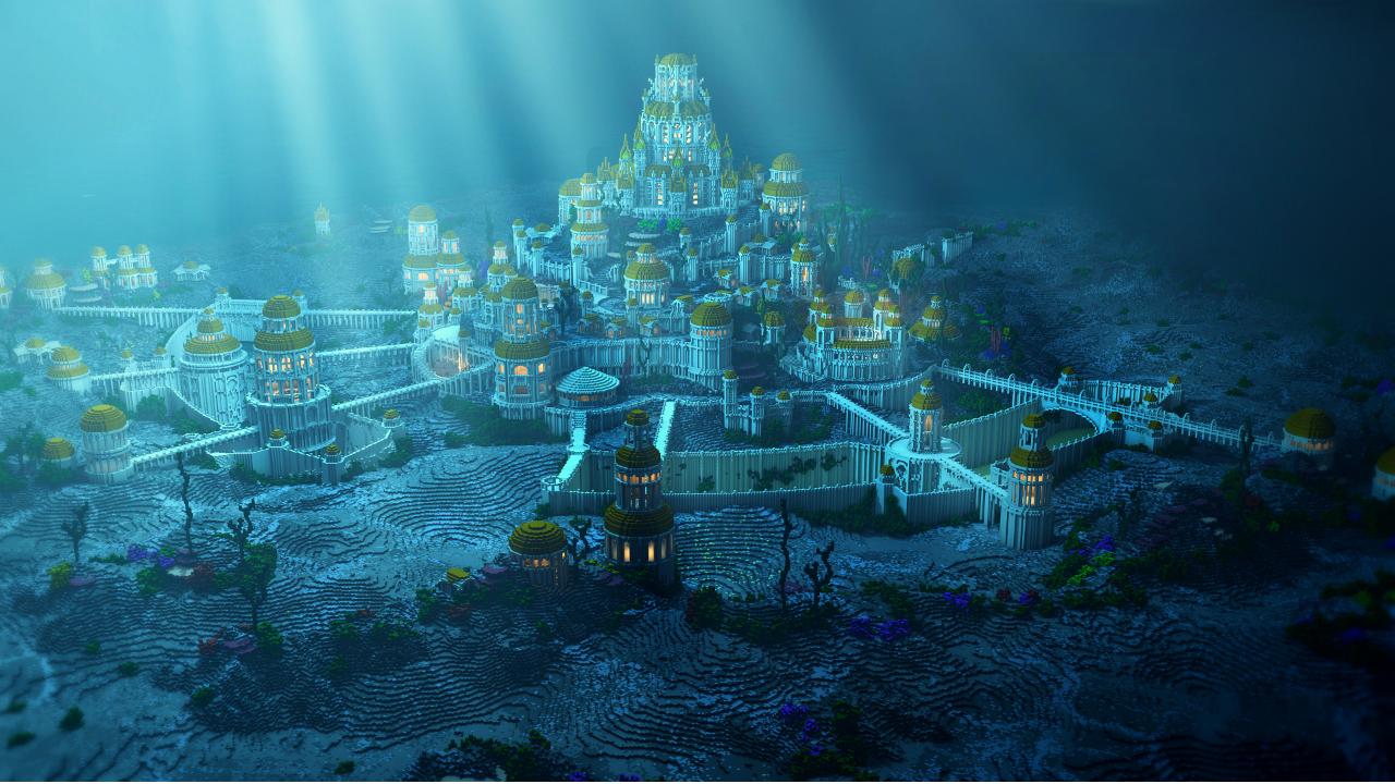 """Misteri Keberadaan Atlantis, Kota Modern yang """"Hilang"""