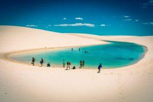 Laguna cantik di Brazil