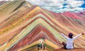 Gunung Pelangi di Peru