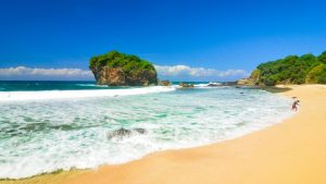 Pantai tersembunyi di Jogja