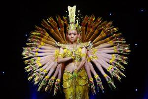 Negara dengan tari tradisional yang populer di dunia: China - tari qian shou guan yi
