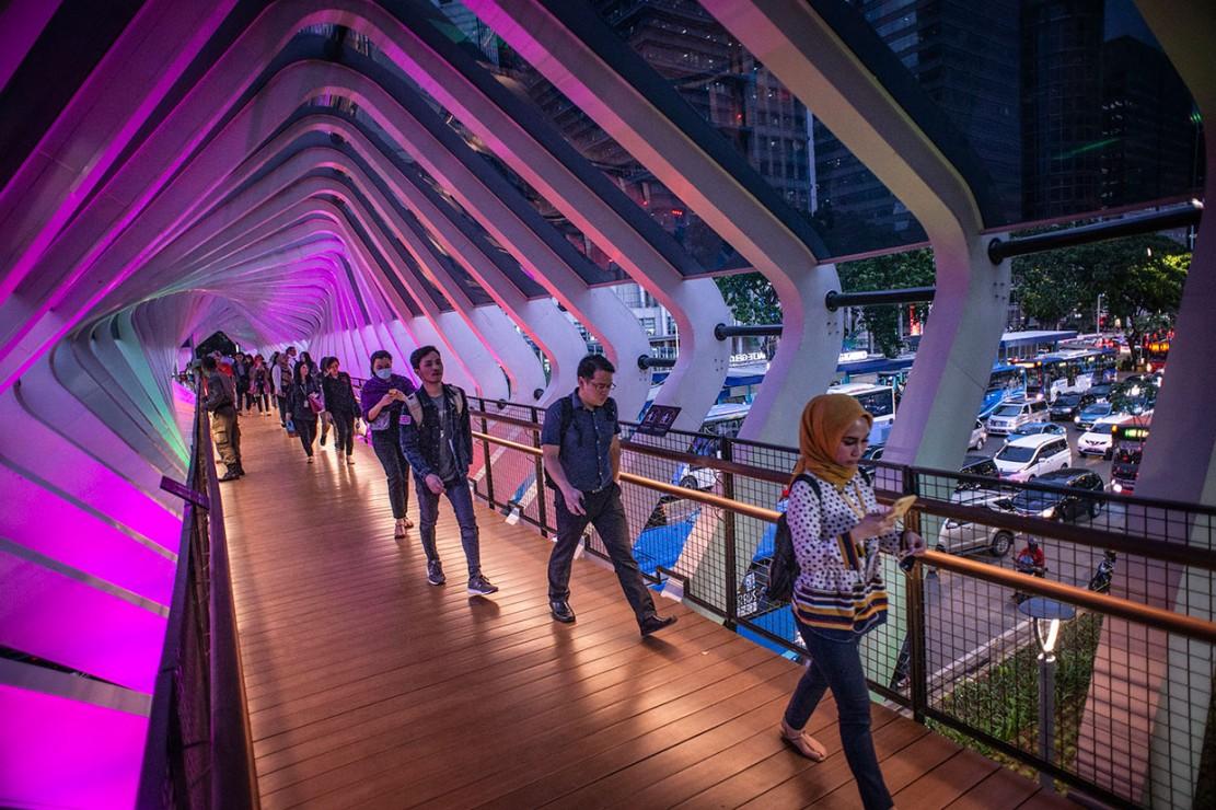 jembatan instagramable jakarta